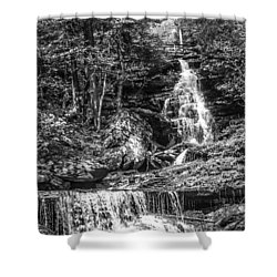 Adams Falls - 8867 Shower Curtain
