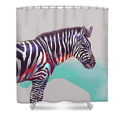 Adapt To The Unknown Shower Curtain