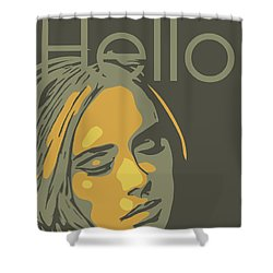 Adele Shower Curtain by Greatom London