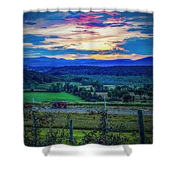 Shower Curtain featuring the photograph Adirondack Country by Kendall McKernon