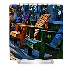Adirondack Shower Curtain by Monte Arnold