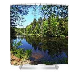 Adirondack Waters Shower Curtain
