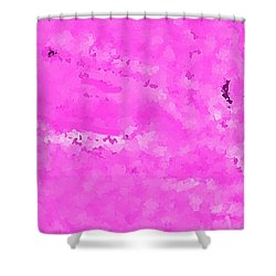 Adjacent To The Beginning Shower Curtain by Yshua The Painter