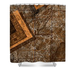 Administratio Shower Curtain