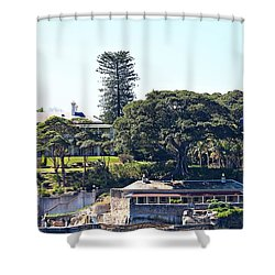 Shower Curtain featuring the photograph Admiralty House by Stephen Mitchell