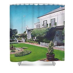 Admiralty House Shower Curtain by Tim Johnson