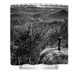 Needles Point South Dakota Shower Curtain