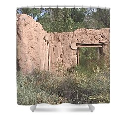 Shower Curtain featuring the photograph Adobe by Erika Chamberlin