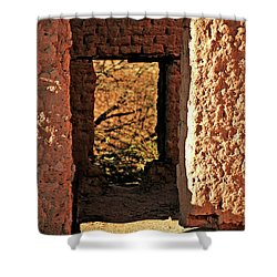 Adobe Ruin Shower Curtain