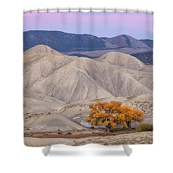 Adobe Sunset Shower Curtain