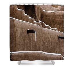 Adobe Walls Shower Curtain