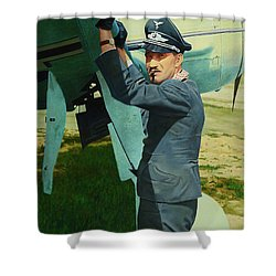 Adolf Shower Curtain