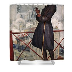 Adolfo Best-maugard Shower Curtain by Granger