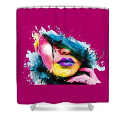 Adonis T-shirt Shower Curtain