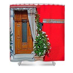 A-door-ned Shower Curtain
