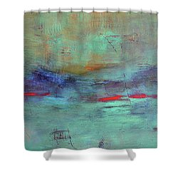 Adrift Shower Curtain by Filomena Booth