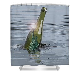 Adrift Shower Curtain