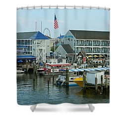 Adult Fun - Ocean City Md Shower Curtain by Emmy Marie Vickers