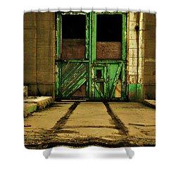 Advance Shower Curtain by Cyryn Fyrcyd