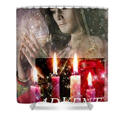 Advent Vision Shower Curtain by Suzanne Silvir