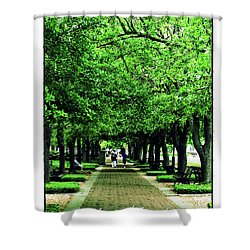 Adversity Quote Shower Curtain
