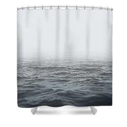 Aeon Shower Curtain by Taylan Apukovska