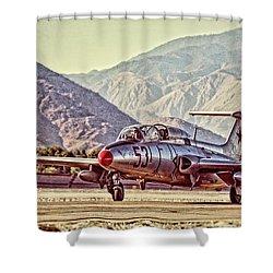 Aero L-29 Delfin Shower Curtain