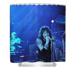 Aerosmith-steven Tyler-00107 Shower Curtain by Gary Gingrich Galleries