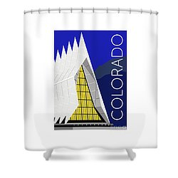 Colorado Afa Chapel Shower Curtain