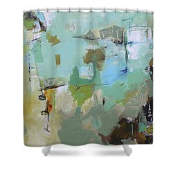 Afflable Shower Curtain by Elizabeth Chapman