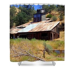 Affordable Housing Kern County Shower Curtain