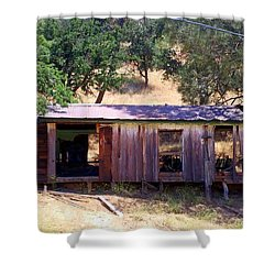 Cozy Cottage Kern County Shower Curtain