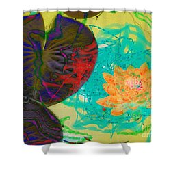 Afloat Shower Curtain by Kathie Chicoine
