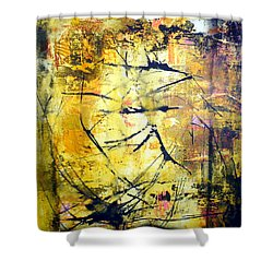 Aforethought Abstract Shower Curtain