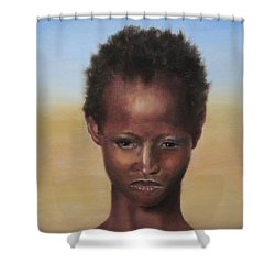 Africa Shower Curtain by Annemeet Hasidi- van der Leij