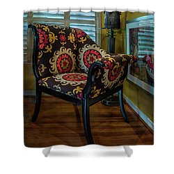 African Accent Furniture Shower Curtain