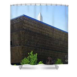 African American History And Culture 1 Shower Curtain by Randall Weidner