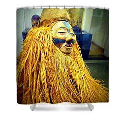 African Artifact Shower Curtain