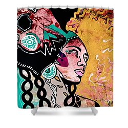African Gypsy Shower Curtain
