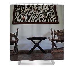 African Interior Design 1 Shower Curtain