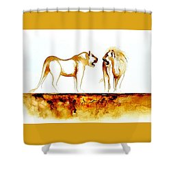 African Marriage - Original Artwork Shower Curtain