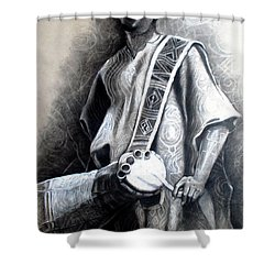 African Rythm Shower Curtain