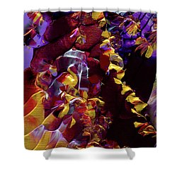 African Violet Awake Shower Curtain