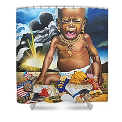 African't Shower Curtain