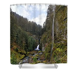 After A Rainstorm Shower Curtain by David Gn