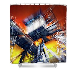 Shower Curtain featuring the photograph After Effect by Wayne Sherriff