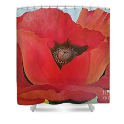 After Georgia Shower Curtain by Susan Williams
