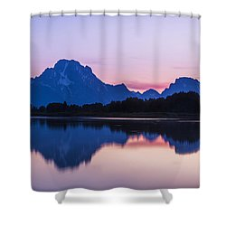 Shower Curtain featuring the photograph After Glow by Andrew Soundarajan