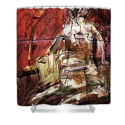 After Henry Moore IIII Shower Curtain