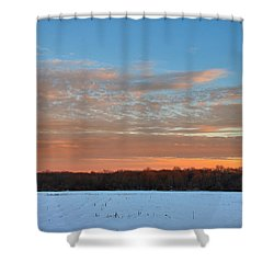 After Storm Jonas Shower Curtain